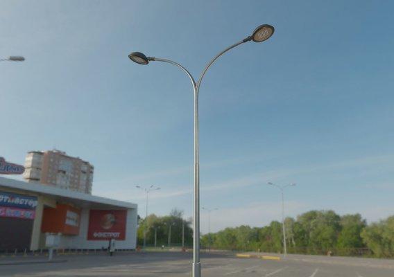 Sci-Fi-Street Light 15 v.10 (5m) (Pole 4) Blender-2.90.1