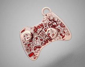 3D printable model Joystick Keychain