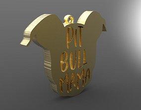 3D print model Pitbull mama