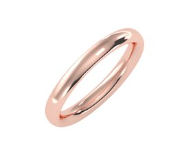 Women Band Ring 3dm stl render detail solitaire collection