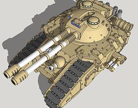 6mm and 8mm FellKnife Superheavy Sci-Fi 3D printable model