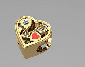 arrow hearted ball of charm 3D printable model