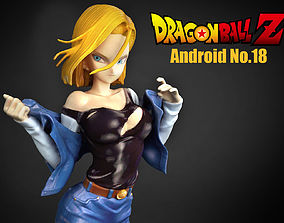 Android No18 3D comic