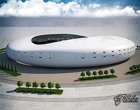 people 3D model Stadium