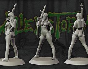 Karla Sega Alien Storm game 3d print figure