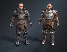 3D asset Warrior 3
