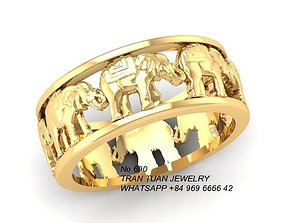 3D printable model 690 Elephan Ring