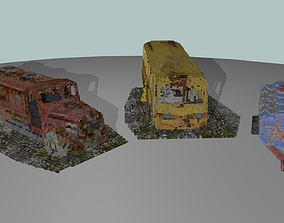 3D model Voxel Pack Vehicle
