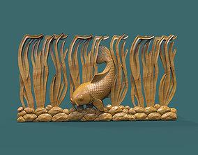 Underwater fish 3D printable model