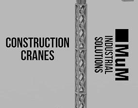 3D print model Construction Cranes