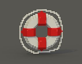 Ring Buoy Voxel Model realtime
