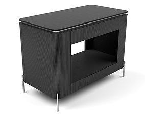 3D model Universal Furniture - Nina Magon Iris Nightstand