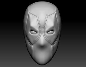 3D Deadpool Head
