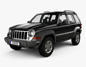 Jeep Liberty KJ Limited 2005 3D