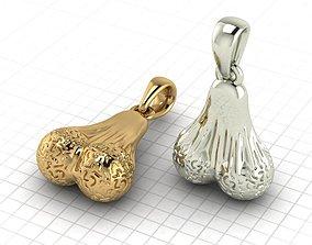 3D print model testicles