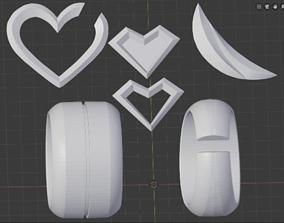 3D print model KDA Ahri lol accessories fanmade