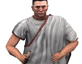 Roman Diplomat 3D asset