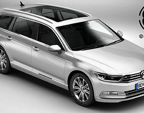 3D Volkswagen Passat Variant 2015