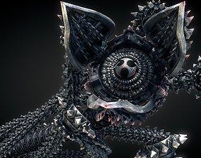 Metal Worm 3D model