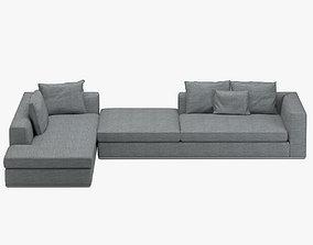 Minotti Powell Sofa 3D