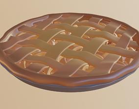 Apple Pie candy 3D model