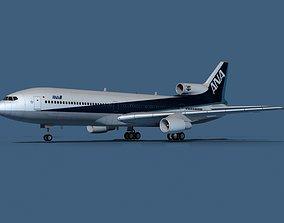 Lockheed L-1011-50 All Nippon Airways 3D model