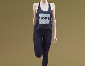 3D model Myriam 10003 - Sport Girl stretching
