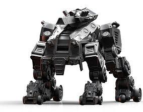 3D printable model CRH-202 Crazy Horse Mech