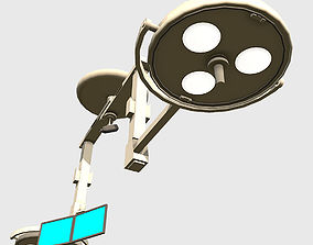 3D asset Overhead Lights