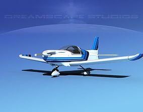 3D model Zlin Z 242 V03