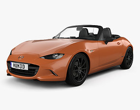 3D model Mazda MX-5 30th Anniversary convertible 2019