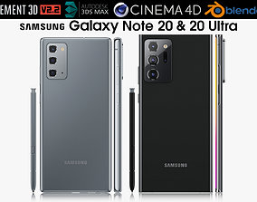 Samsung Galaxy Note 20 and 20 Ultra 3D