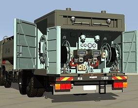 3D model Japan Air Self Defense Force 2000L Fuel Supply