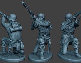 3D print model German soldier ww2 Schiessbecher G5