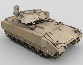 Bradley Fighting Vehicle 3D