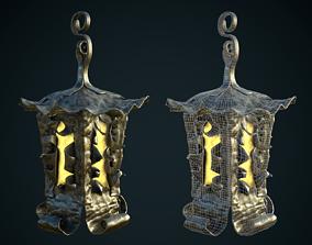 Old magic lantern 3D asset
