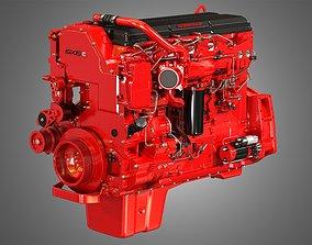 3D ISX15 Heavy Duty Truck Engine - 6 Cylinder Diesel 1