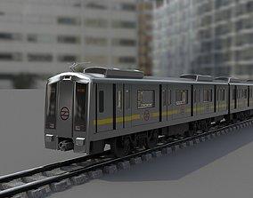 3D model Delhi Metro with track