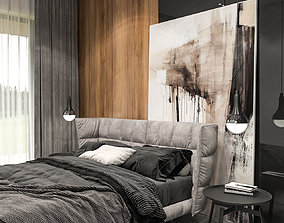 Modern Luxury Architectural Interior 3D model
