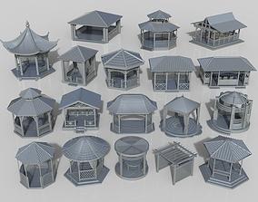 3D Arbors -part-1- 18 pieces