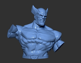 3D printable model wolverine marvel photopolymer 2