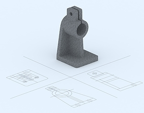 3D printable model Mechanical Part No 4