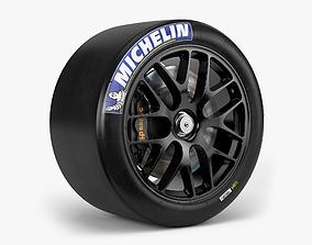 3D model Michelin C7R Combo