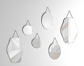 Vintage Wall Mirrors 3D model