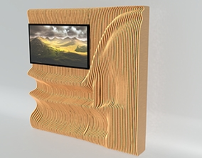 furniture 3D Parametric TV