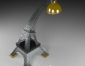 table lamp model 3D model