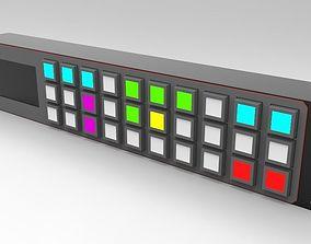 3D model Router Control Panel