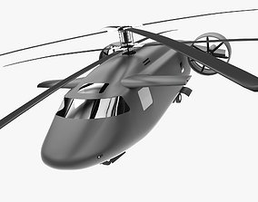 3D model Joint Multi-Role Helicopter