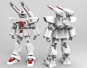 F71 G-Cannon 3D asset