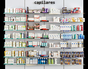 medical Pharmacy Cosmetics 3D